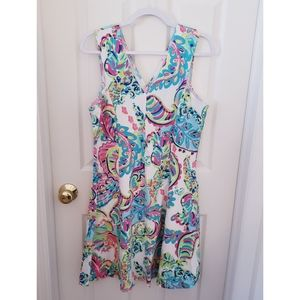 Lilly Pulitzer Dahlia Fit & Flare Toucan Play Reso